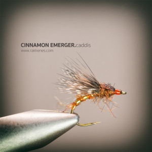 Cinnamon Caddis Emerger