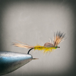 A great flymf pattern for most mayfly hatches