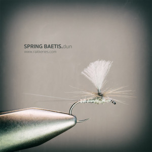 Spring Baetis Parachute