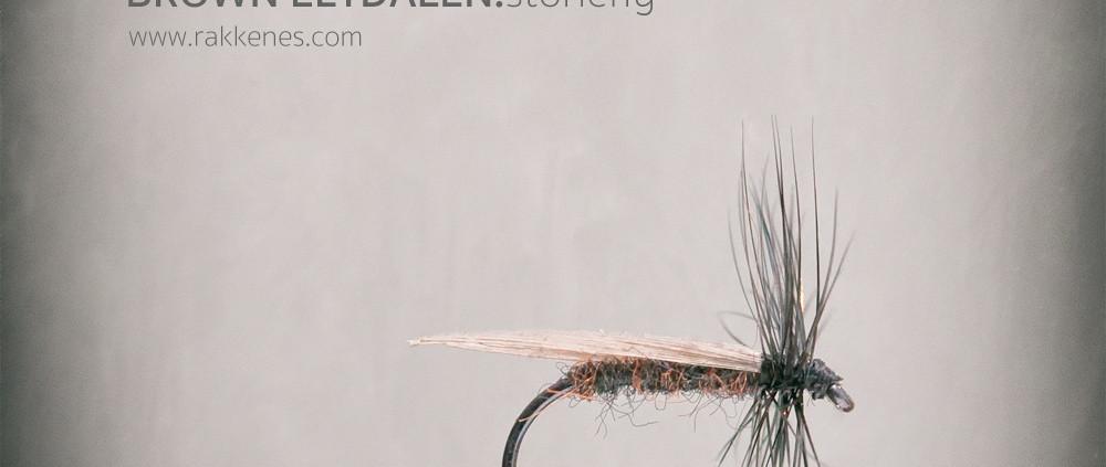 Brown Eltdalen Stonefly