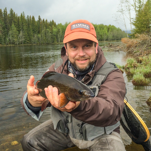 Flyfishing Grayling Baetis