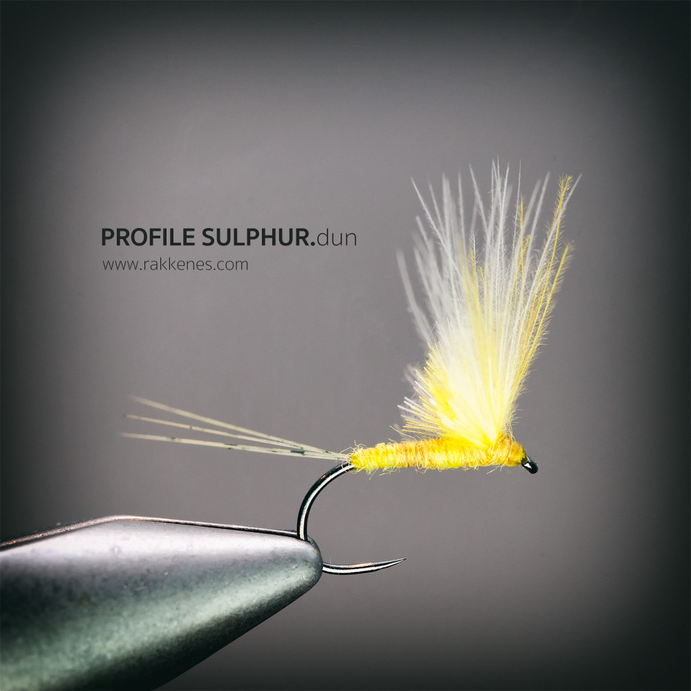 Sulphur No Hackle Dun
