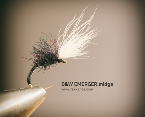 Black and White Midge Emerger