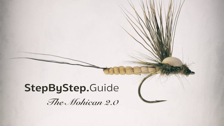 Tying Mohican Mayfly Step by Step
