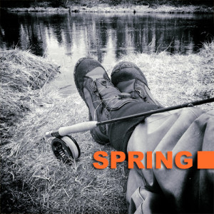 Spring fly fishing