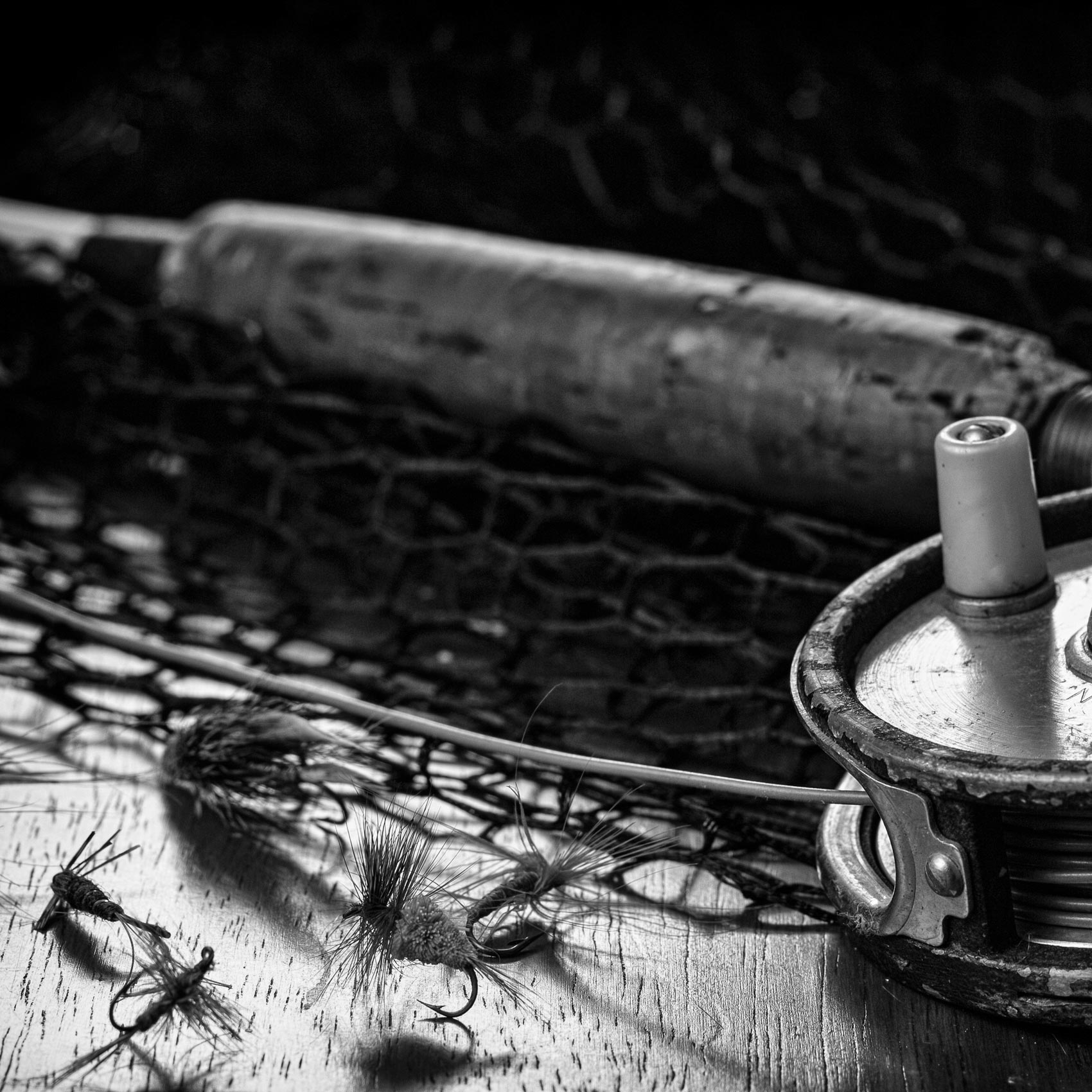 Fly tying for trout and grayling