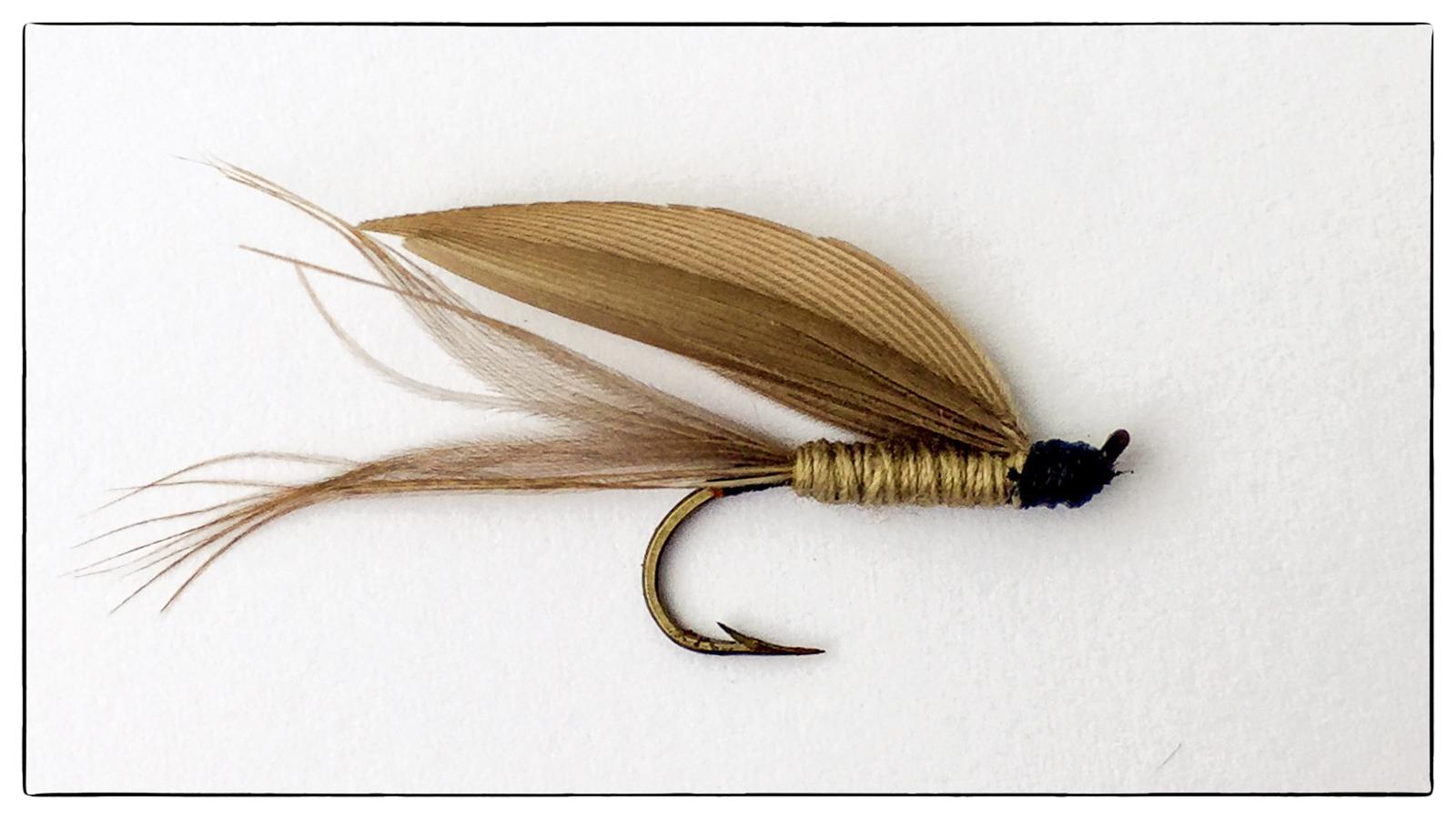 Jon Strand første flue